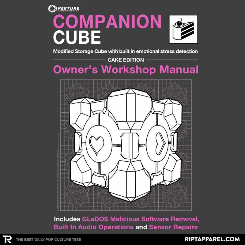 Companion Cube Manual