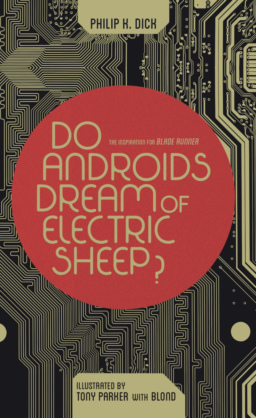 Do Androids Dream of Electric Sheep Omnibus Cover by Jay Shaw
