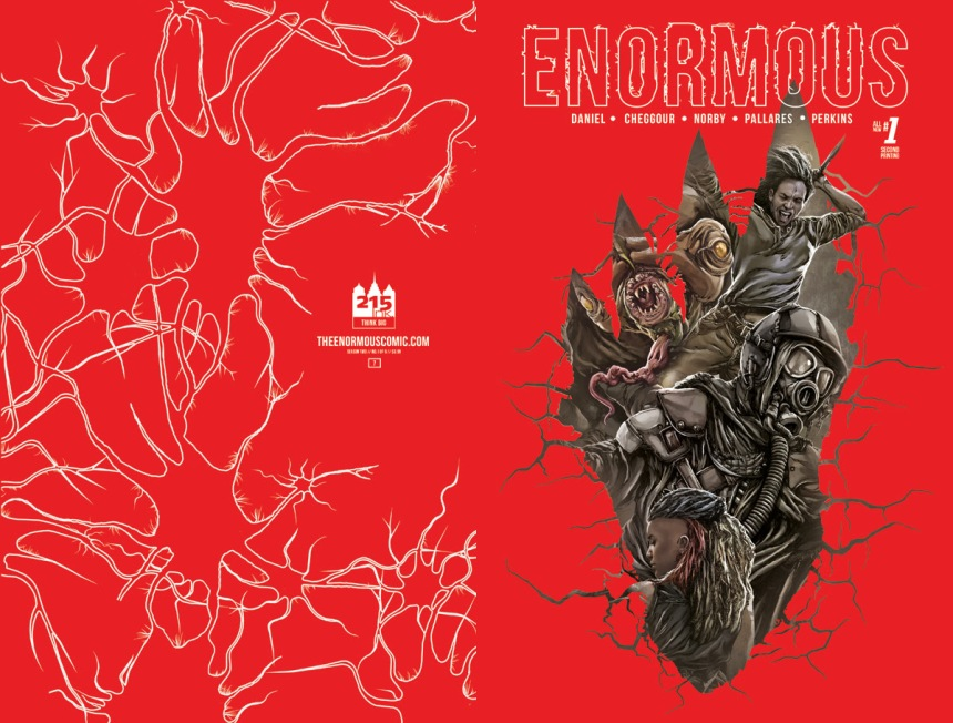 enourmous vol 2 #1 2nd print