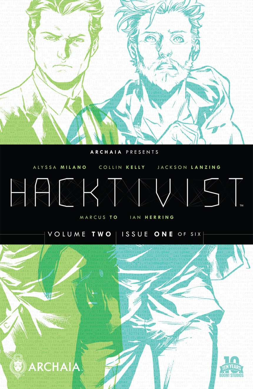 Hacktivist Vol. 2 #1 Main Cover by Marcus To
