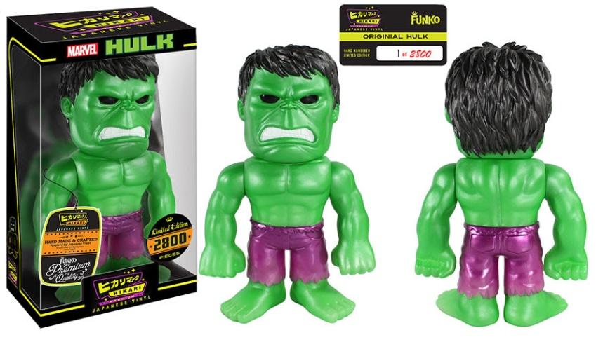 Hulk Hikari Sofubi Figure
