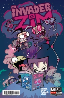 INVADERZIM #1 COVER AARON ALEXOVICH REBEL BASE 4x6 WEB