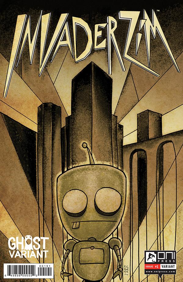 INVADERZIM #1 COVER K.C. GREEN GHOST 4x6 WEB