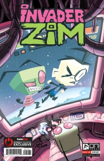 INVADERZIM #1 COVER MARIEL CARTWRIGHT GAMESTOP 4x6 WEB