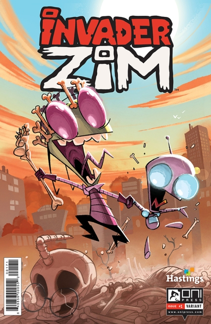 INVADERZIM #1 COVER TYSON HESSE HASTINGS 4x6 WEB