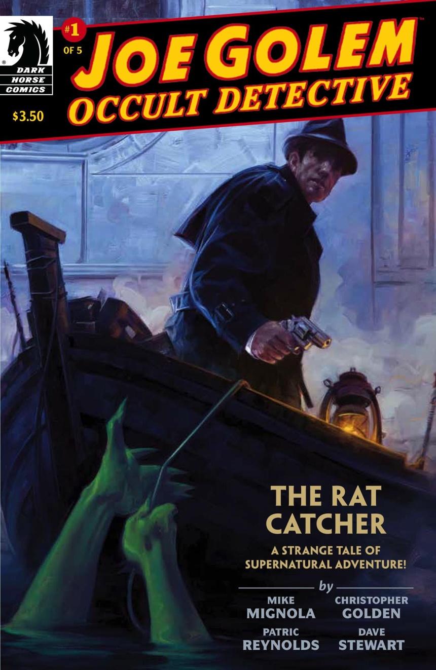 Joe Colem Occult Detective #1 Cover
