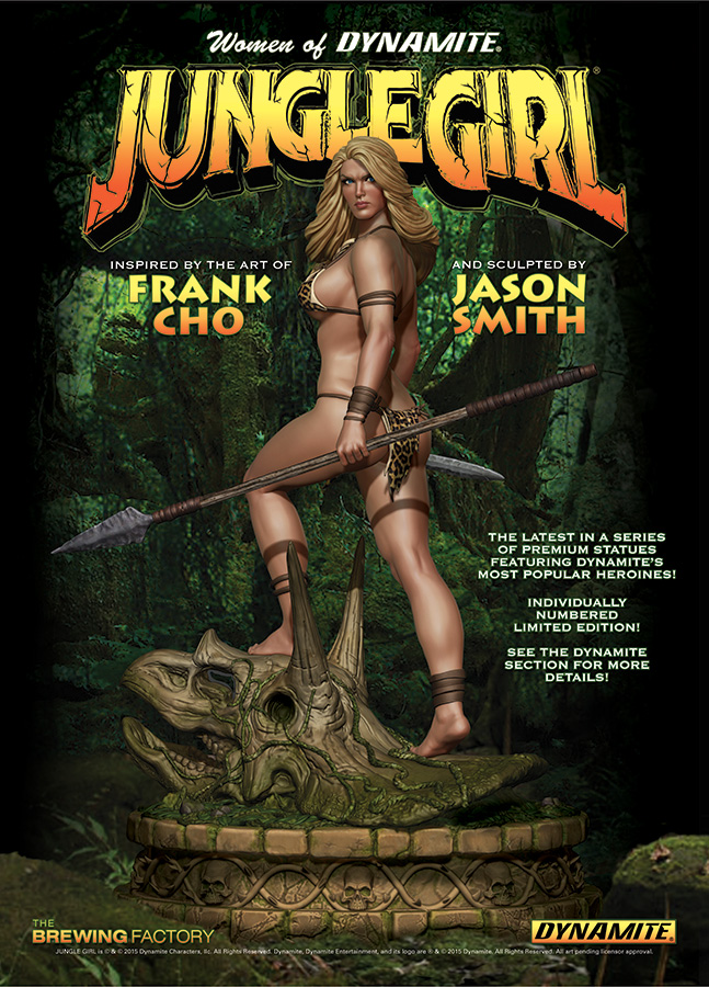 JungleGirlStatue