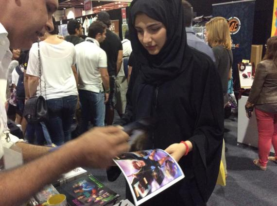 middle east comic con dubai