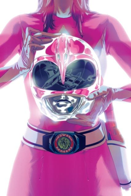 MMPR SDCC - Pink Ranger