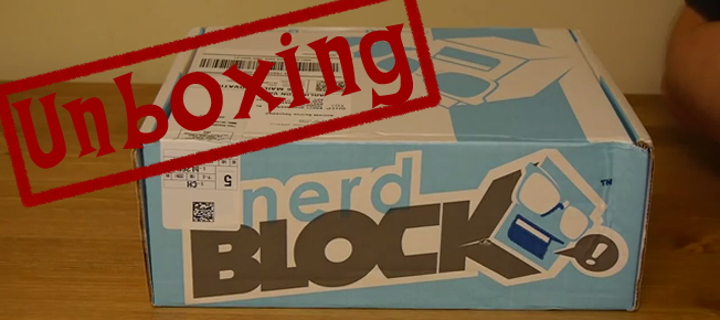 nerd block unboxing featured