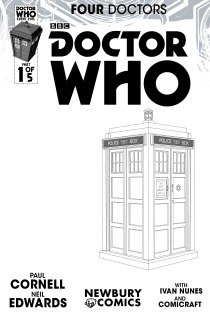 NEWBURY COMICS SKETCH VARIANT COVER