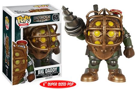 Pop! Games BioShock Booker DeWitt Big Daddy