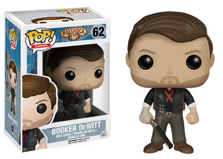 Pop! Games BioShock Booker DeWitt