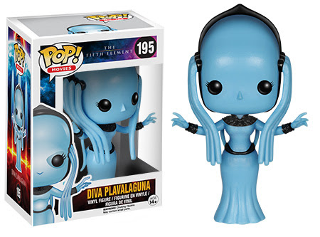 POP! Movies The Fifth Element Diva Plavalaguna