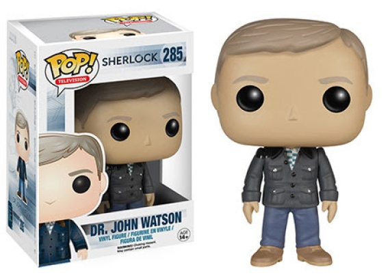 Pop! TV Sherlock Dr John Watson