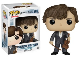 Pop! TV Sherlock Sherlock with Violin