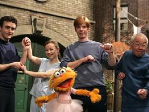 The National Theater of the Deaf have appeared many times over Sesame Street's long run.