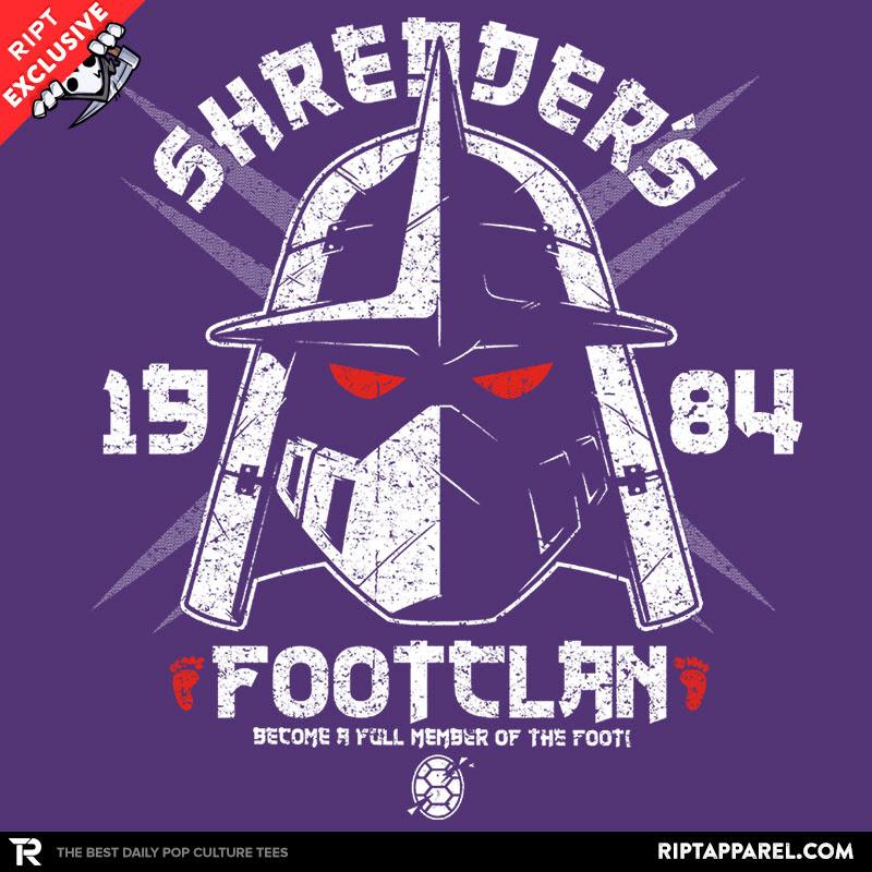 Shredhead's Foot Clan