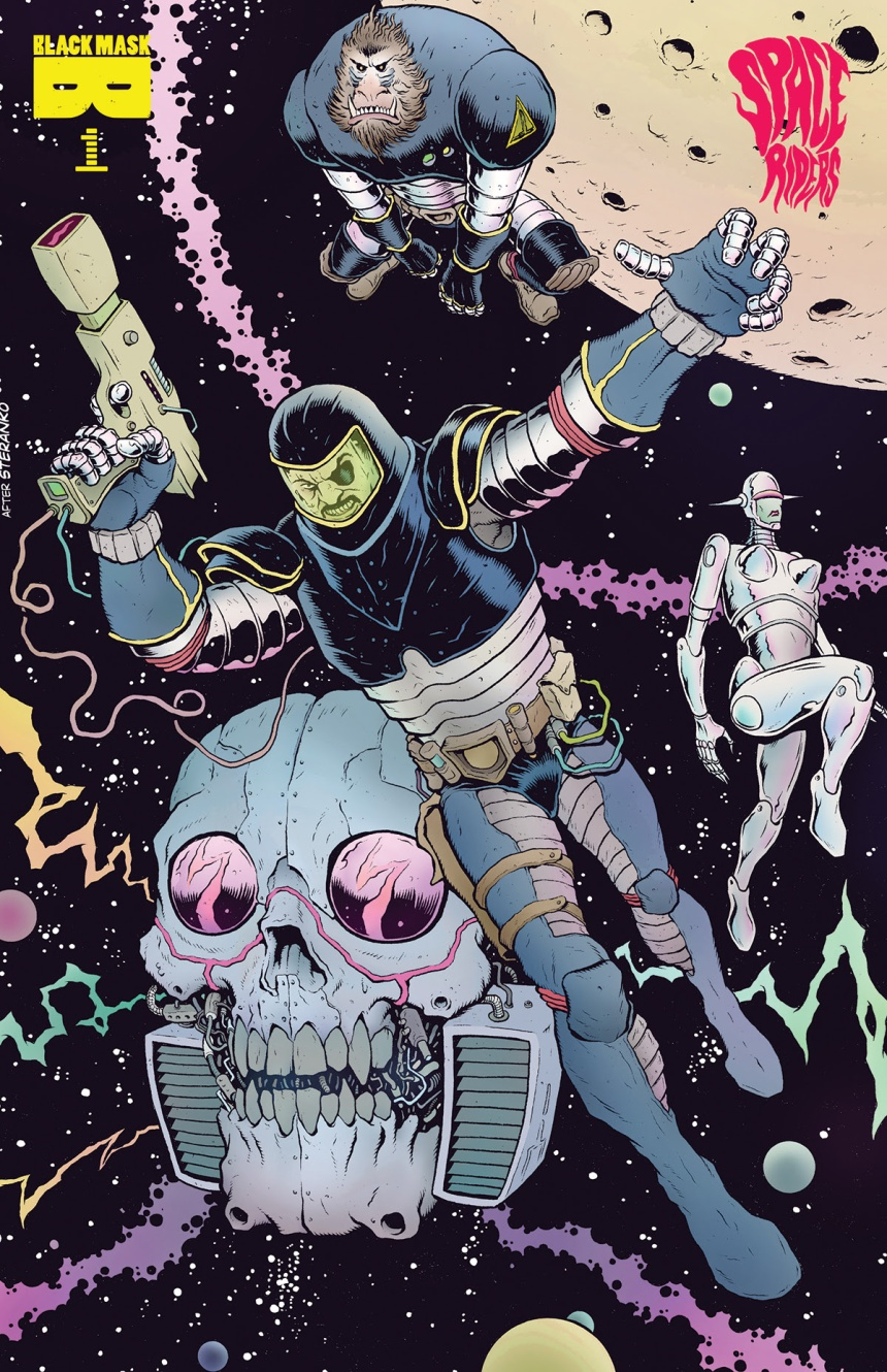 SPACE RIDERS #1 3rd Printing