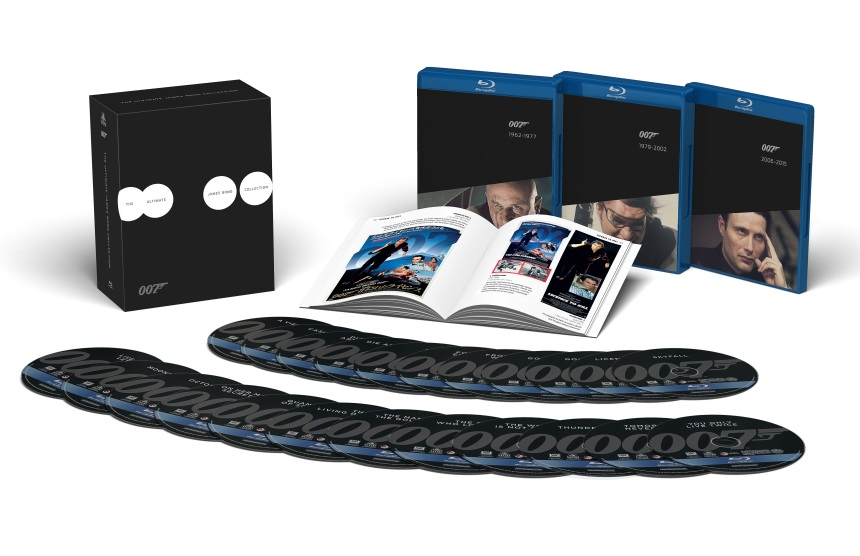 Special Edition James Bond Blu-ray and DVD