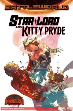star lord and kitty pryde 1 cover