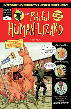 THE PITIFUL HUMAN LIZARD #1