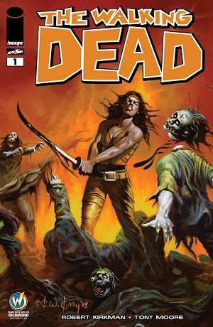 The Walking Dead #1 Ken Kelly