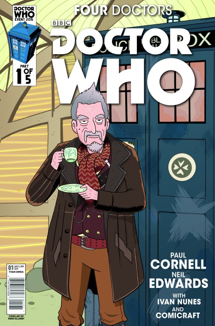 THE WHO SHOP VARIANT COVER BY MARC ELLERBY