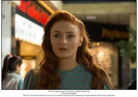 Sophie Turner is Jean Grey in X-MEN: APOCALYPSE.