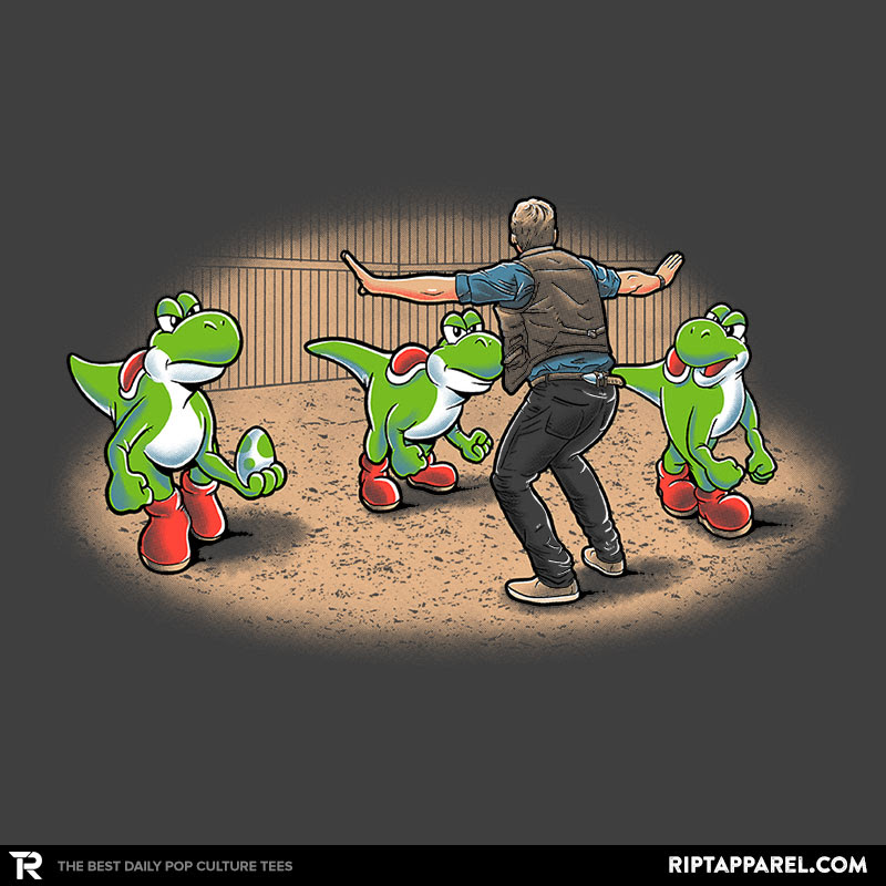 Fashion Spotlight: Yoshi world, Rexy Can Do It!, and Good Morning Raptors