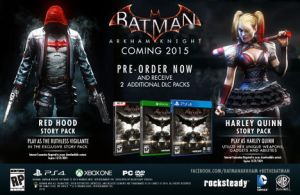 Batman Pre-Order DLC packs