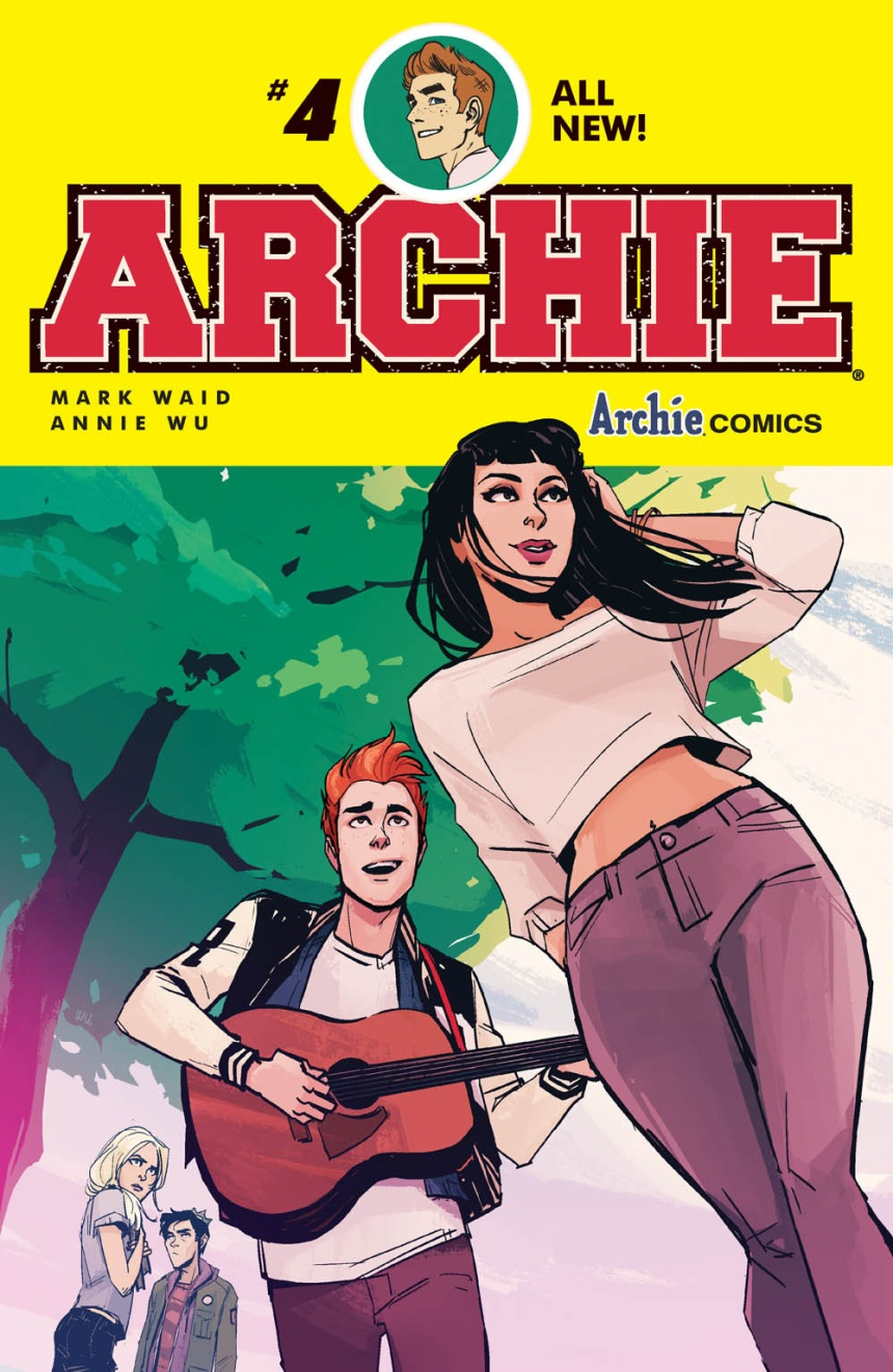 ARCHIE #4 Cover by Annie Wu