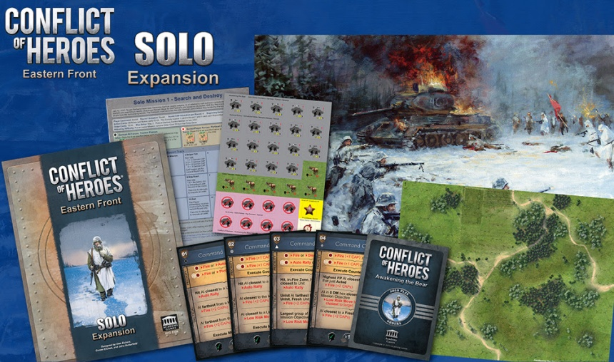 Conflict of Heroes Solo Expansion