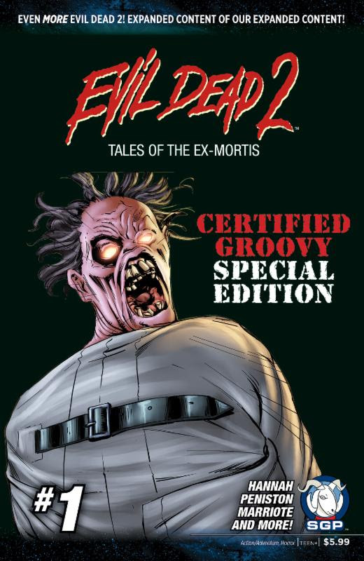 EVIL DEAD 2 TALES OF THE EX-MORTIS the Special Edition #1