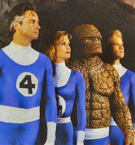 Fantastic Four Group Shot