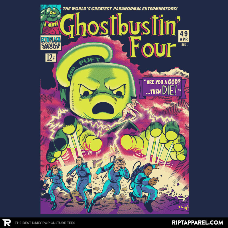 Ghostbustin Four #49