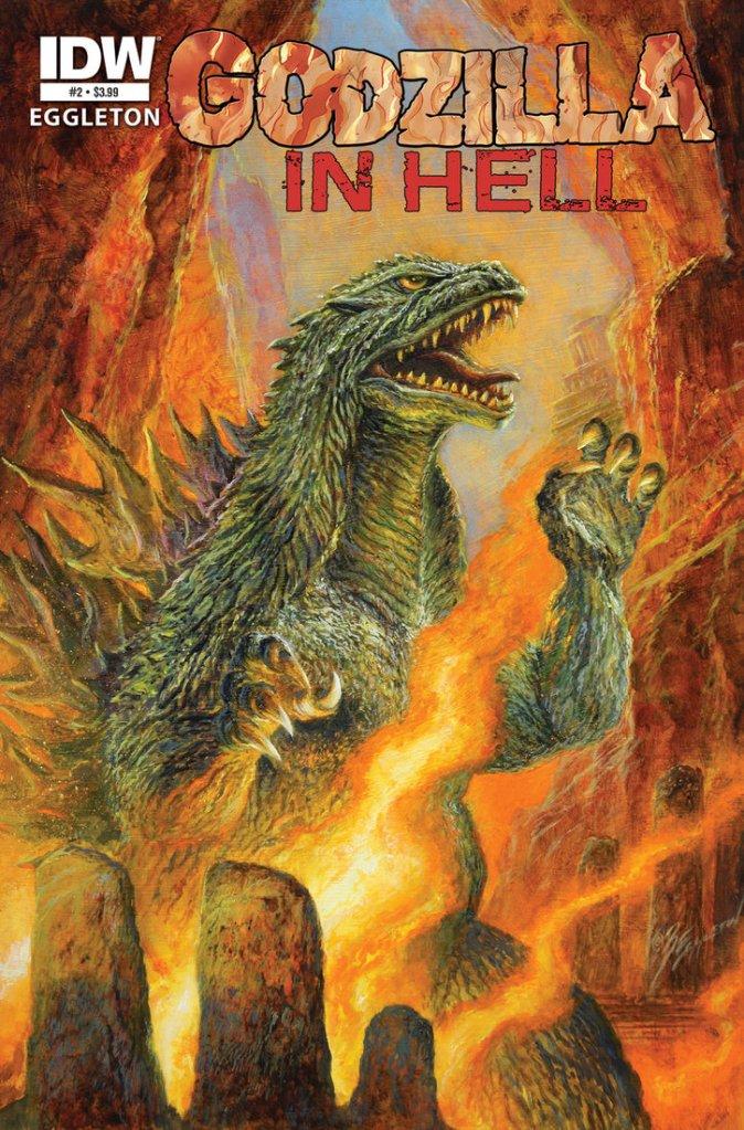 'Hell is other kaiju'. - 50-foot tall radioactive Sartre