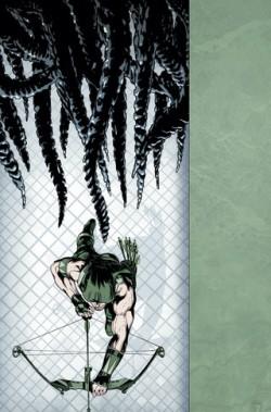 Green Arrow #43 Cover