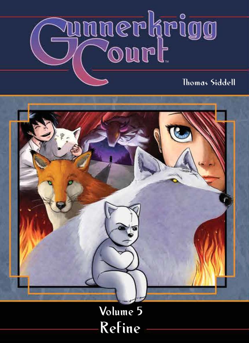 Gunnerkrigg_Court_v5_HC_cover