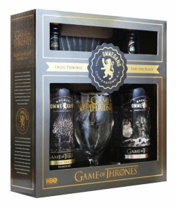 Iron Throne Blonde Ale and Take the Black Stout