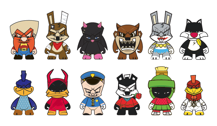 Kidrobot x Looney Tunes 1