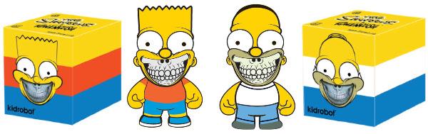 Kidrobot x The Simpsons 1