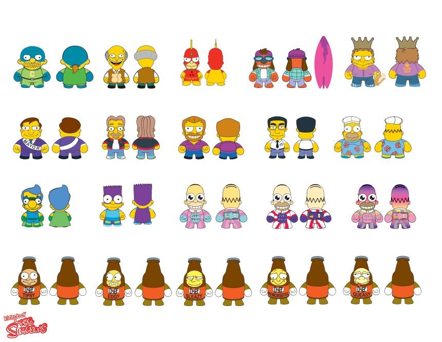 Kidrobot x The Simpsons 3