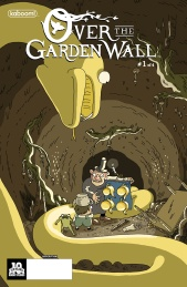 Over the Garden Wall #1 Subscription Cover by Steve Wolfhard