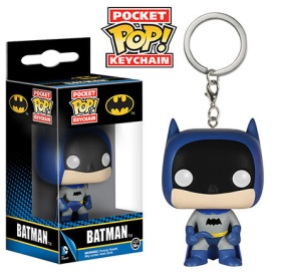 Pocket Pop! Keychains Rainbow Batman Blue
