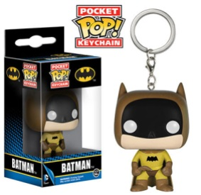 Pocket Pop! Keychains Rainbow Batman Brown