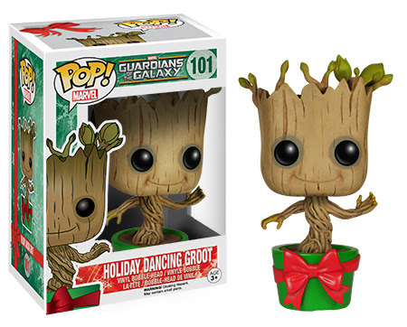 Pop! Marvel Guardians of the Galaxy Holiday Dancing Groot