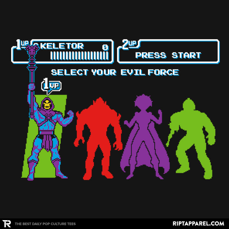 Select Your Evil Force