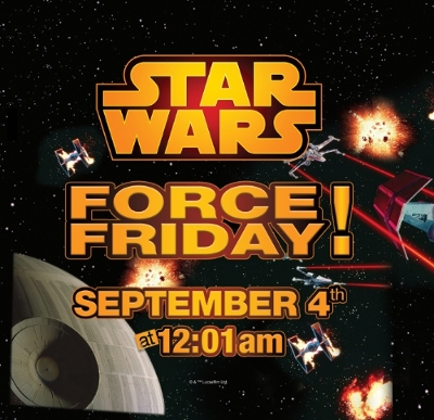 """Toys""""R""""Us To Launch New Star Wars Saga Products With Midnight Opening Events Worldwide"""