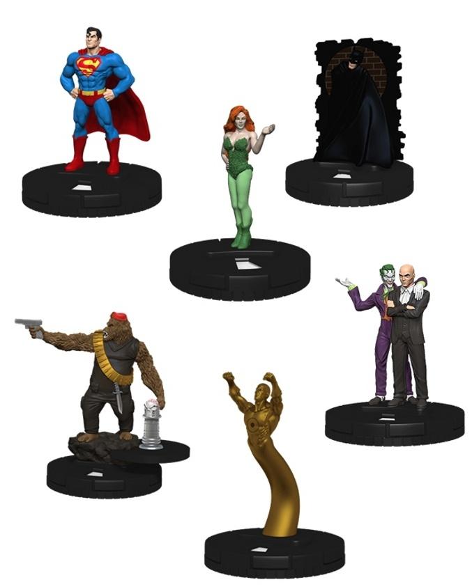 DC Heroclix Batman Vs Superman Dawn of Justice Movie Fast Forces